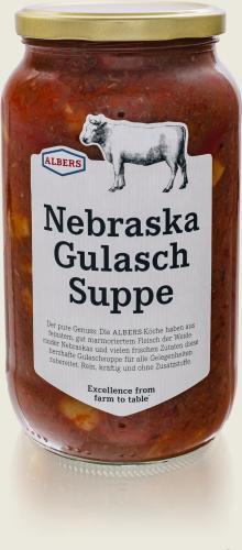 ALBERS – Nebraska Gulasch Suppe 1l