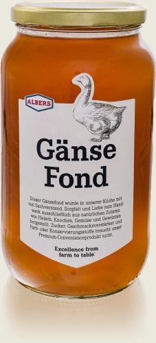 ALBERS – Gänse Fond 1l