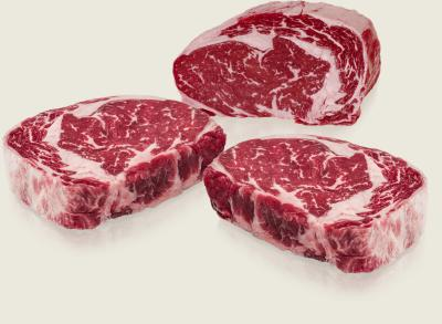Greater Omaha Gold Label Rib-Eye-Trio