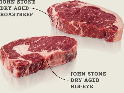 Steak-Box John Stone Roastbeef und Entrecôte-Steak