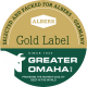 Greater Omaha Gold Label