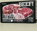 BEEF!-Box: Roastbeef und Entrecôte-Steak