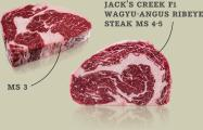 Jack's Creek F1 Wagyu-Angus Ribeye Paket MS3 und MS4-5